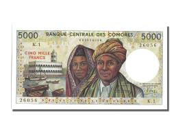 Billet, Comoros, 5000 Francs, 1981, NEUF - Comoros
