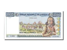 Billet, Djibouti, 2000 Francs, NEUF - Djibouti