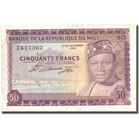 Billet, Mali, 50 Francs, 1960, 1960-09-22, KM:6a, TTB - Mali