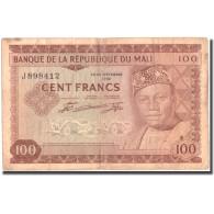 Billet, Mali, 100 Francs, 1967, 1960-09-22, KM:7a, TB+ - Mali