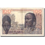Billet, French West Africa, 100 Francs, 1957, 1957-05-20, KM:46, TTB - Togo