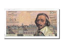 Billet, France, 10 Nouveaux Francs, 10 NF 1959-1963 ''Richelieu'', 1959 - 10 NF 1959-1963 ''Richelieu''