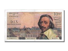 Billet, France, 10 Nouveaux Francs, 10 NF 1959-1963 ''Richelieu'', 1962 - 10 NF 1959-1963 ''Richelieu''