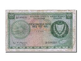 Billet, Chypre, 500 Mils, 1979, 1979-06-01, TB+ - Cyprus