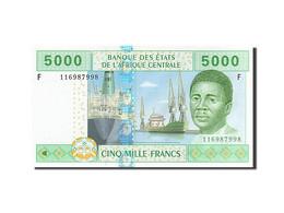 Billet, États De L'Afrique Centrale, 5000 Francs, 2002, SPL - Equatorial Guinea