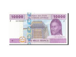 Billet, États De L'Afrique Centrale, 10,000 Francs, 2002, SPL - Equatorial Guinea