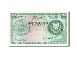 Billet, Chypre, 500 Mils, 1979, 1979-09-01, NEUF - Cyprus