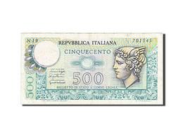 Billet, Italie, 500 Lire, 1974, TTB - 500 Lire