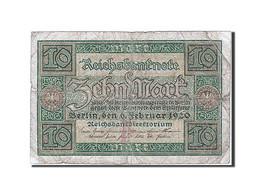 Billet, Allemagne - 10 Mark