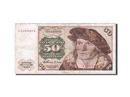 Billet, République Fédérale Allemande, 50 Deutsche Mark, 1960, 1960-01-02 - 50 Deutsche Mark