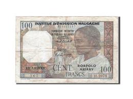 Billet, Comoros, 100 Francs, 1960, Undated, KM:3b, TB+ - Comoros