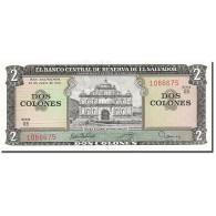 Billet, El Salvador, 2 Colones, 1976, 1976-06-24, KM:124a, NEUF - El Salvador