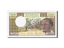 Billet, Djibouti, 5000 Francs, NEUF - Djibouti