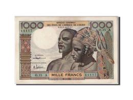 Billet, West African States, 1000 Francs, 1961, 1961-03-20, SPL - Côte D'Ivoire