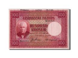 Billet, Iceland, 100 Kronur, 1942, 1942-01-14, KM:30s, TTB+ - Iceland