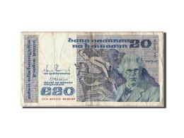 Billet, Ireland - Republic, 20 Pounds, 1989, 1989.02.06, KM:73c, TTB - Ireland