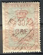 DENMARK - Canceled - Fiscal 30o - Steuermarken