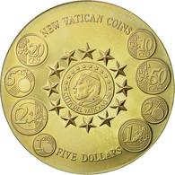 Monnaie, Liberia, 5 Dollars, 2002, FDC, Copper-nickel - Liberia