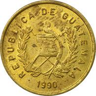 Monnaie, Guatemala, Centavo, Un, 1990, TTB, Laiton, KM:275.3 - Guatemala