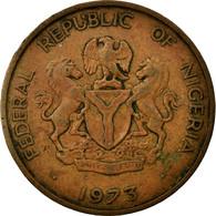 Monnaie, Nigéria, Elizabeth II, Kobo, 1973, TB, Bronze, KM:8.1 - Nigeria