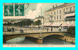 A877 / 291 88 - EPINAL Pont Des Quatre Nations Et Bazar Des Vosges - Epinal