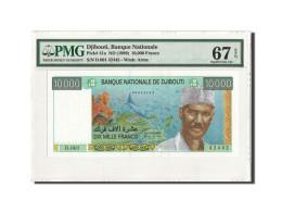 Billet, Djibouti, 10,000 Francs, Undated (1999), KM:41, Gradée, PMG - Djibouti