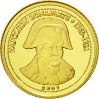 Monnaie, Congo Republic, Napoléon Bonaparte, 1500 Francs CFA, 2007, SPL, Or - Congo (Republic 1960)