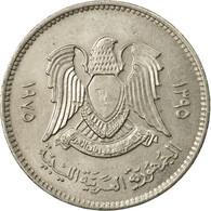 Monnaie, Libya, 20 Dirhams, 1975/AH1395, TTB, Copper-Nickel Clad Steel, KM:15 - Libya