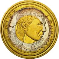 Monnaie, Honduras, 10 Lempiras, 1995, Tower, SPL, Tri-Metallic, KM:1c.1 - Honduras
