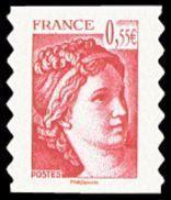 Autoadhésif(s) De France N°  231 ** Ou 4293 - Visage De La (5ème) Cinquième République - Sabine De Gandon - Unused Stamps