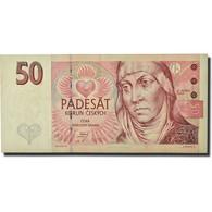 Billet, République Tchèque, 50 Korun, 1993, KM:4a, TTB - Czech Republic