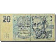 Billet, République Tchèque, 20 Korun, 1994, KM:10a, TTB - Czech Republic