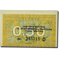 Billet, Lithuania, 0.50 Talonas, 1991, KM:31b, NEUF - Latvia