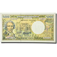 Billet, French Pacific Territories, 5000 Francs, Undated (1996), KM:3a, NEUF - Papeete (French Polynesia 1914-1985)