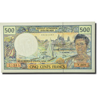 Billet, French Pacific Territories, 500 Francs, Undated (1992), KM:1a, NEUF - Papeete (French Polynesia 1914-1985)