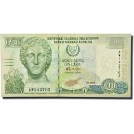 Billet, Chypre, 10 Pounds, 2003, 2003-09-01, KM:62d, NEUF - Cyprus