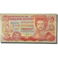 Billet, Falkland Islands, 5 Pounds, 1983, KM:12a, NEUF - Falkland Islands