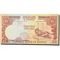 Billet, Samoa Occidentales, 5 Tala, 2002, KM:33b, NEUF - Samoa