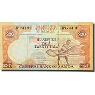 Billet, Samoa Occidentales, 20 Tala, 2002, KM:35b, NEUF - Samoa