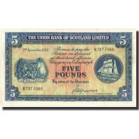 Billet, Scotland, 5 Pounds, 1952, 1952-11-03, KM:S817a, SUP - 5 Pounds