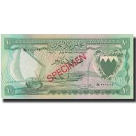 Billet, Bahrain, 10 Dinars, 1964, L.1964, KM:6s, NEUF - Bahrain
