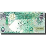 Billet, Qatar, 5 Riyals, Undated (2003), KM:21, SPL+ - Qatar