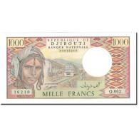 Billet, Djibouti, 1000 Francs, 1991, KM:37c, NEUF - Djibouti