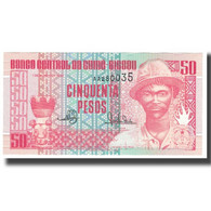 Billet, Guinea-Bissau, 50 Pesos, 1990, 1990-03-01, KM:5a, NEUF - Guinea-Bissau