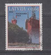 Latvia 2018 Mi 1078 Used Lighthouse - Lettonia