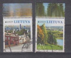 Lithuania 2012 Mi 1103-4 Used Europa - Lituania