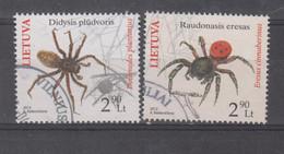 Lithuania 2012 Mi 1100-1 Used Spiders - Lituania