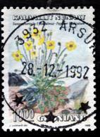 Greenland   1989  Flowers MiNr.198  (O) ( Lot G 1509 ) - Gebruikt