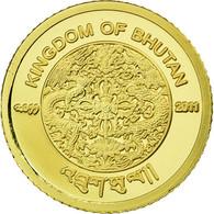 Monnaie, Bhoutan, Jigme Khesar Namgyel Wangchuck, 100 Ngultrums, 2011, FDC, Or - Bhutan