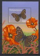 Turkmenistan - 2002 - Bloc Feuillet BF N° Yv. 43 - Papillons / Butterflies - Neuf Luxe ** / MNH / Postfrisch - Papillons